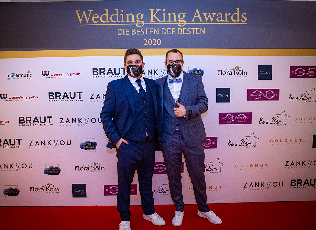 Wedding Award Germany Roter Teppich Wedding King Awards
